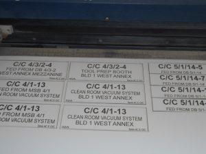 Engraved labels by Jan's Engraving - Sunbury & Bellarine
